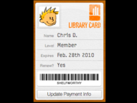 Shelfworthy Library Card