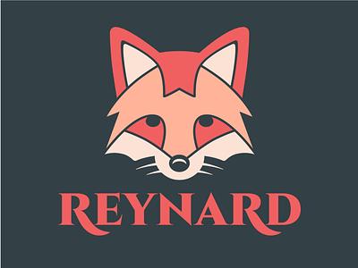 Reynard Logo kitsune reynard fox brand brand identity design brand identity logos logo