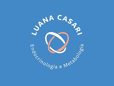 Luana Casari clean logo healthcare flat logo branding logo design health logo brand identity design brand design