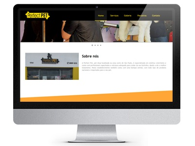 Perfect Pet - Website web design website web design