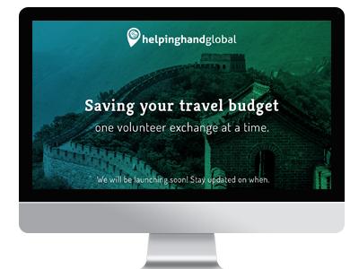 Landing Page - Helping Hand landing page wordpress css css3 html html5 photoshop webdesign web website layout web design