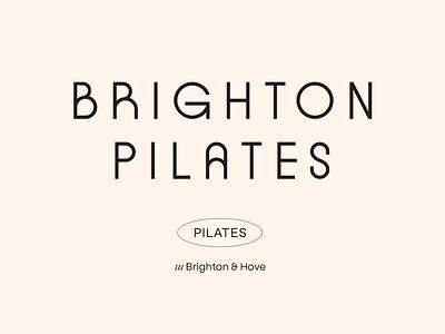 Brighton Pilates — Brand Identity + Web yoga fitness vector logo design branding design graphic design branding