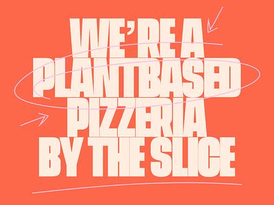 Homeslice – Plantbased Pizzeria logo branding design logo design vector design brand identity typography branding