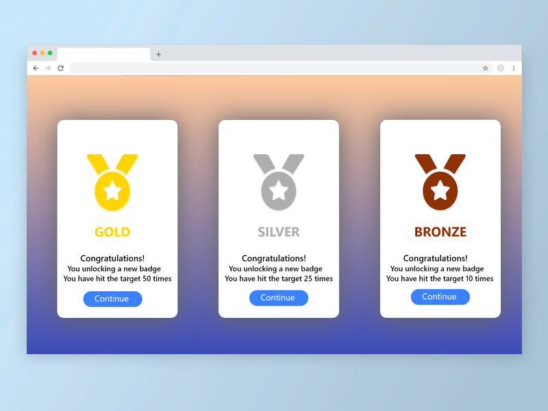 Badges website web dailyuichallenge dailyui ux ui design