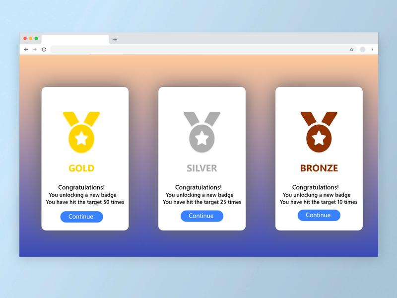 Badges website web dailyuichallenge dailyui ux ui design