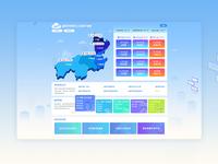 项目教育服务地图