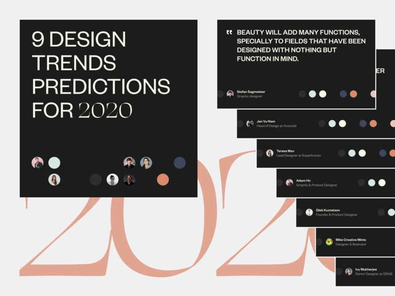 2020 Design Trends Predictions