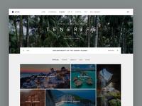 Travel Portal Homepage