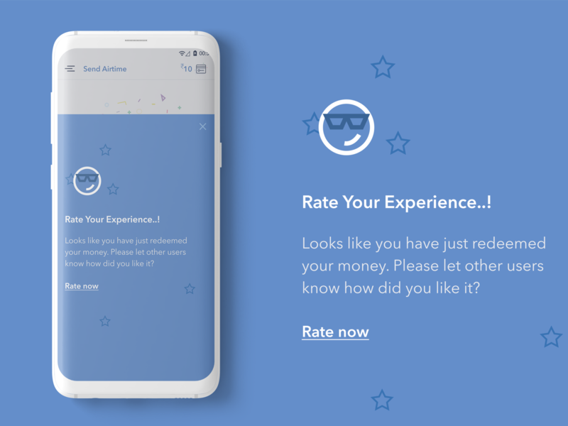 Offer Store - Rate your Experience mobile design mobileapp application webdesign uichallenge ui illustration website dailyui design