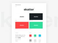 Skatter Branding
