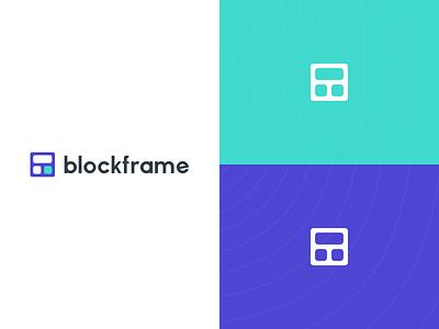 Blockframe Branding bangalore cards blocks minimal icon logo branding