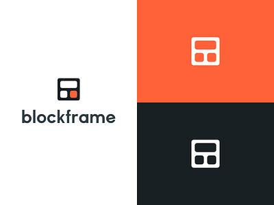 Blockframe Branding 2 bangalore cards blocks minimal icon logo branding