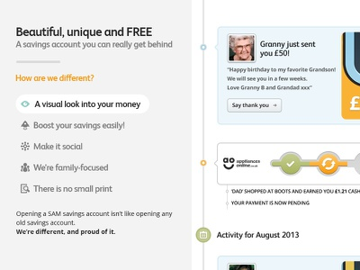 Exploring. website icons timeline fs albert contrast marketing banking