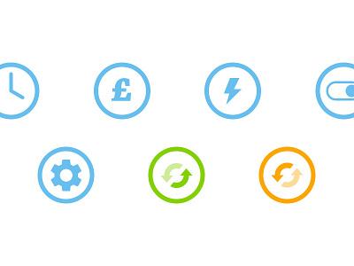 UI Icons web management money app