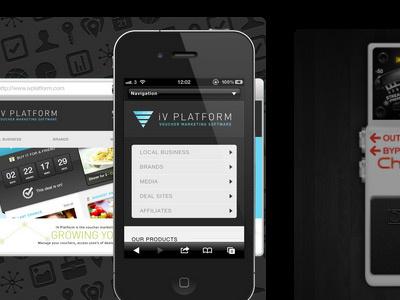 featured work portfolio layout web