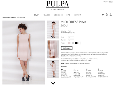 Pulpa Shop white black simple minimalistic fashion