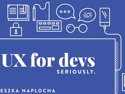 Slidedeck developers ux vector iconography icons flat presentation deck slidedeck