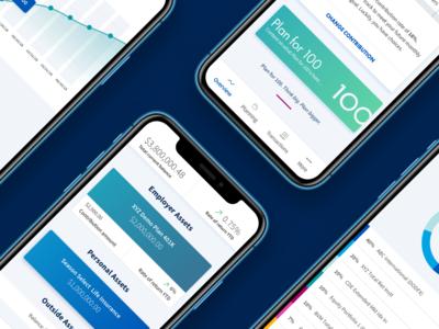 Mobile App Design for AIG Retirement Services