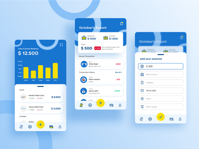 Money Manager Mobile UI inspiration design clean ui expense management expense manager expense tracker money management money app inspiration uiux ux ui