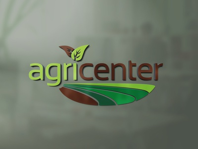 AgriCenter - Logo design visual identity vector adobe illustrator adobe photoshop illustrator photoshop octavian stroilescu logovision logotype logodesign graphicdesigner designer logodesigner branding graphicdesign logo design design