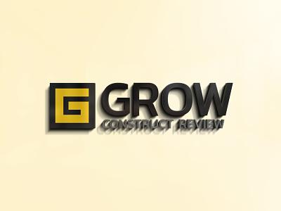 Grow Construct - Logo design visual identity vector adobe illustrator adobe photoshop illustrator photoshop octavian stroilescu logovision logotype logodesign graphicdesigner designer logodesigner branding graphicdesign logo design design