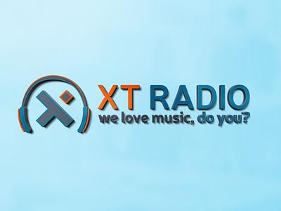 XT Radio - Logo design visual identity vector adobe illustrator adobe photoshop illustrator photoshop octavian stroilescu logovision logotype logodesign graphicdesigner designer logodesigner branding graphicdesign logo design design