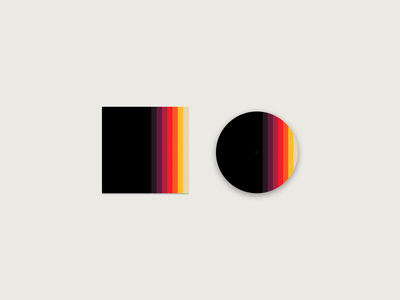 Vinyl Album Cover & Record Design (Unbranded) branding flat minimal design