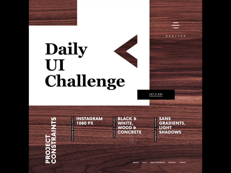 Daily UI 000 daily 100 challenge dailyui ui uiux uidesign uiuxdesign uxdesign userinterface interface dashboard daily ui 100daychallenge 100 day challenge 100 day project