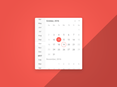 Calendar / Date & Time Picker kendo angular time date widget ui component datetimepicker timepicker datepicker calendar