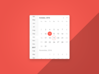Calendar / Date & Time Picker