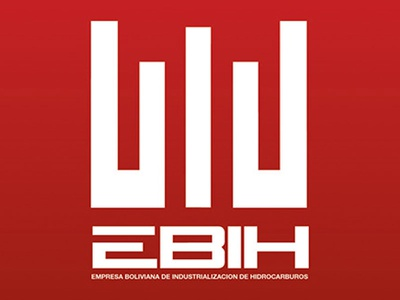 EBIH \ isologo design by Jaime Claure industrial bolivia energy red logo design isologo