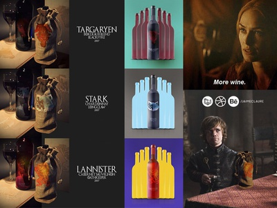 Wines of Westeros \ product design by Jaime Claure