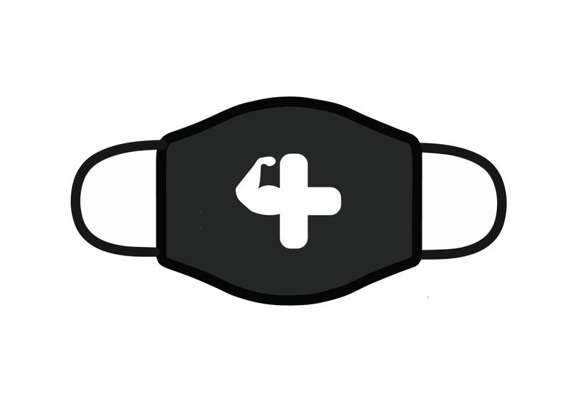 Design For Good Face Mask Challenge cross logo trendy cartoon graphicdesign illustration vector design challenge mask facemask