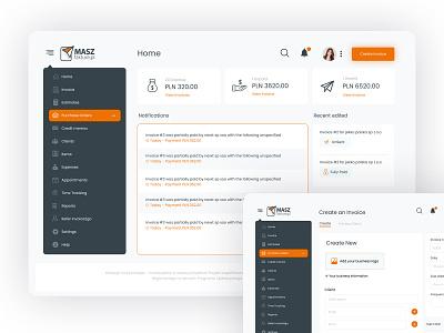 invoice system website ui design sass payment ui ux designer uiux latestdesign ux dribbble uidesign