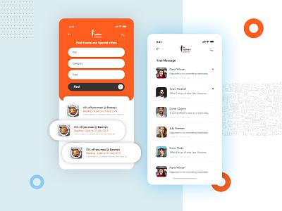 Food App Design ux typography uidesign dribbble app designers trends dribble web design mobile ui ios app android app andorid app mobile app ui ux webdesign app design