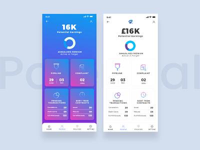 Policy App flatdesign branding dubaidesigner dribbble uidesign ui ux mobile app design andorid app mobile apps ios app mobile app app design