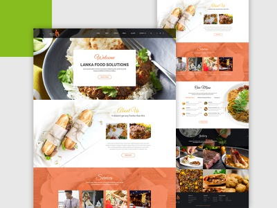 Food website dubaidesigner latestdesign typography branding website designer food website ux dribbble website development ui design website design