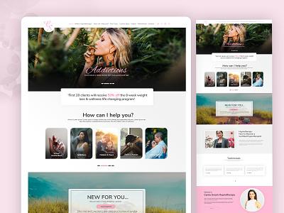 CS Design uidesign dribbble dubaidesigner flatdesign ui ux typography website concept webdesign ui design landingpage website website design