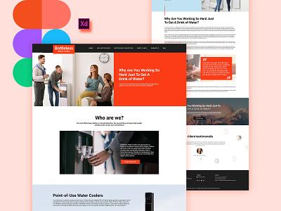 Bottleless Project! dubaidesigner branding latestdesign flatdesign ux ui typography uidesign dribbble web development website design website