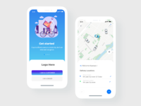 Delivery App Design