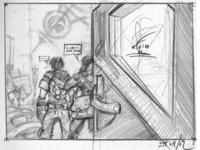 E.N.D. volume 2 sketches