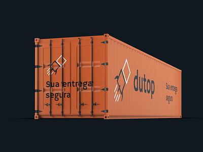 Visual identity - Dutop fast industry graphic design company delivery visual identity design logo branding