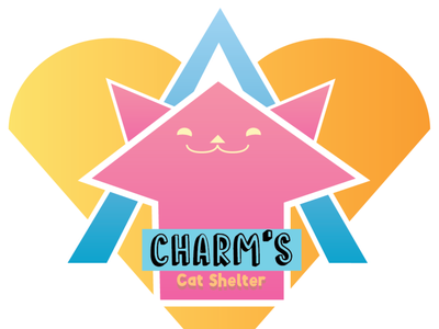 Charm's Logo logo design color art illustration