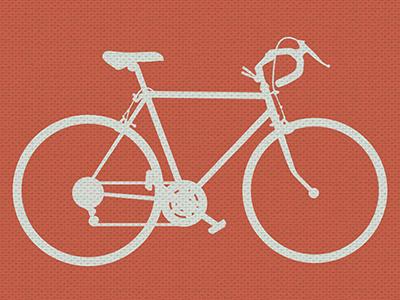 Brick Textured Small illustration bikes