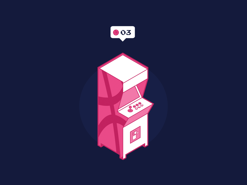 Dribbble Invites design ux ui minimal flat gif digital illustration dribbble invites clean black