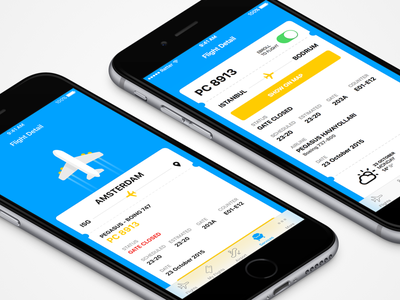 ISG Flight Detail airport sabiha isg ticket plane flight mobile app iphone android ios