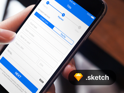 Basic payment design card credit payment free sketch mobile app iphone android ios