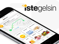 IsteGelsin Mobile Design