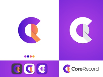 CR Modern Logo design best dribble shot best logo design gradient logo design cr logo cr print modern logo logo mark logo branding logo letter logo letter illustration creative corporate design corporate business branding blog agency
