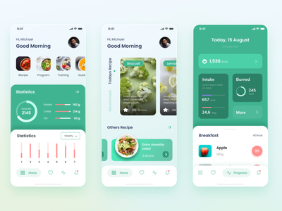 Nirjash - Healthy Food App Design flutter mobile app design ux ui uber typography trend taxi app mobile. taxi ios14 ios concept colorful bright application apple app design app